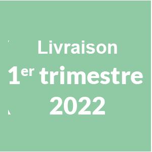 Livraison 1er trimestre 2022